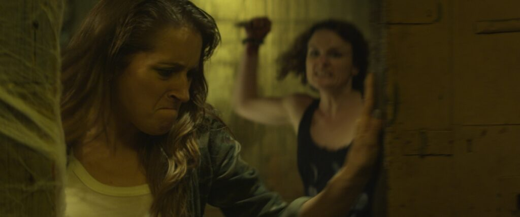 The Scarehouse Corey Sarah Booth 1024x428 - The Scarehouse Cast Members Get Pranked; New Stills and Clips