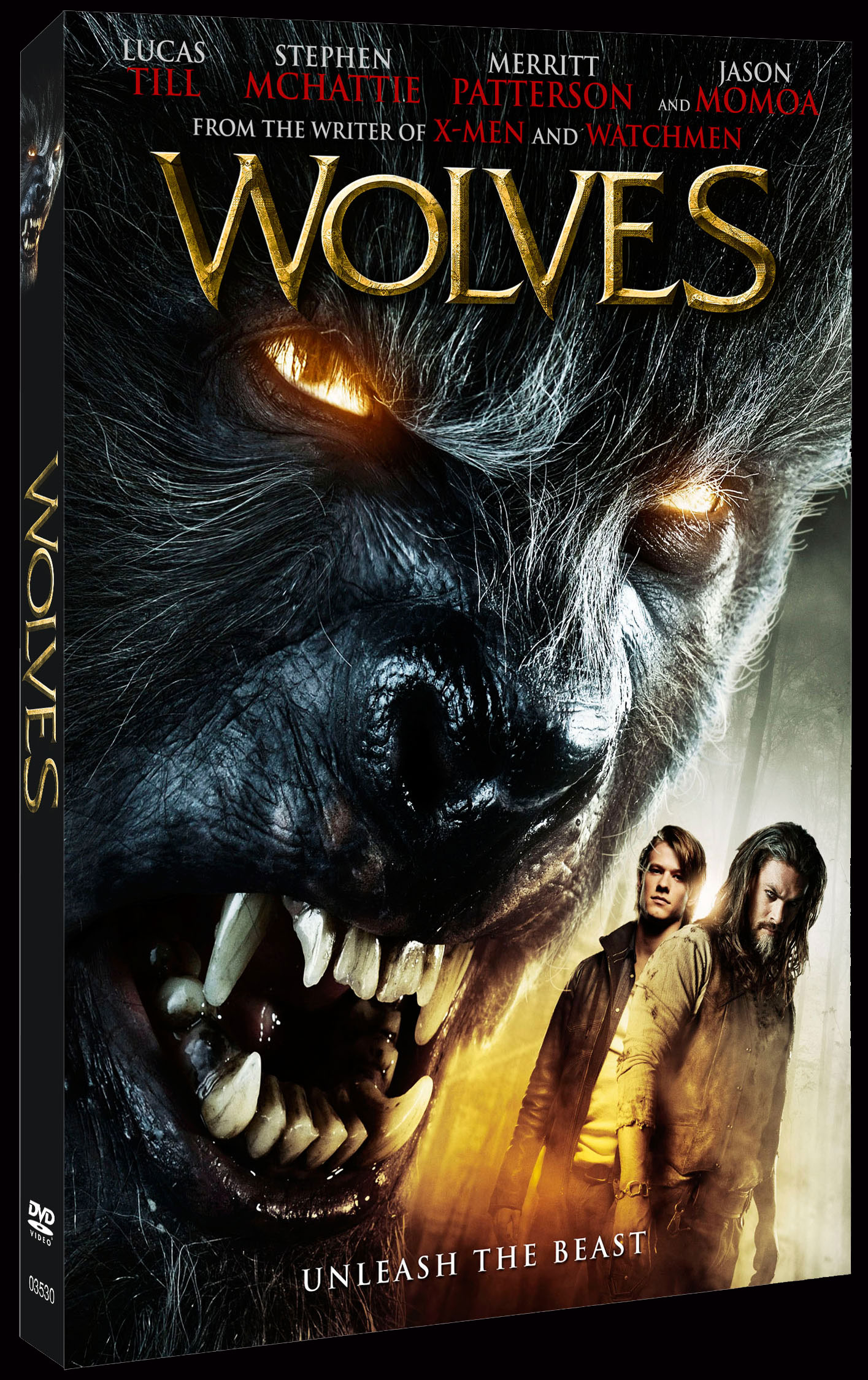 Wolves DVD art - Wolves Howling at Home