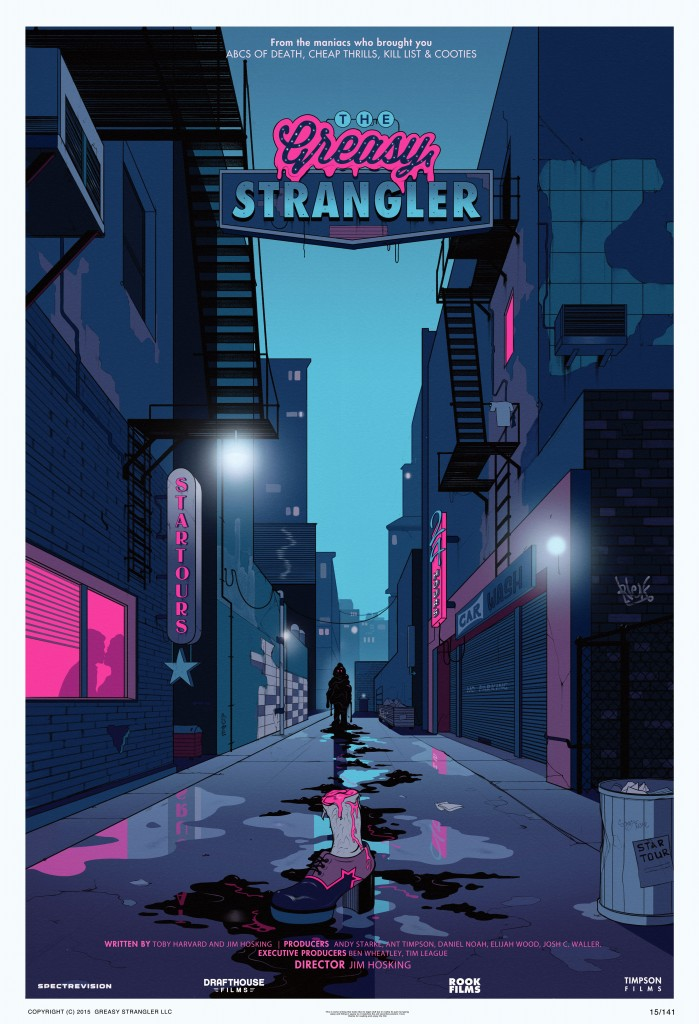 greasy strangler poster 699x1024 - Elijah Wood Talks Upcoming SpectreVision Projects Bad Vibes and The Greasy Strangler