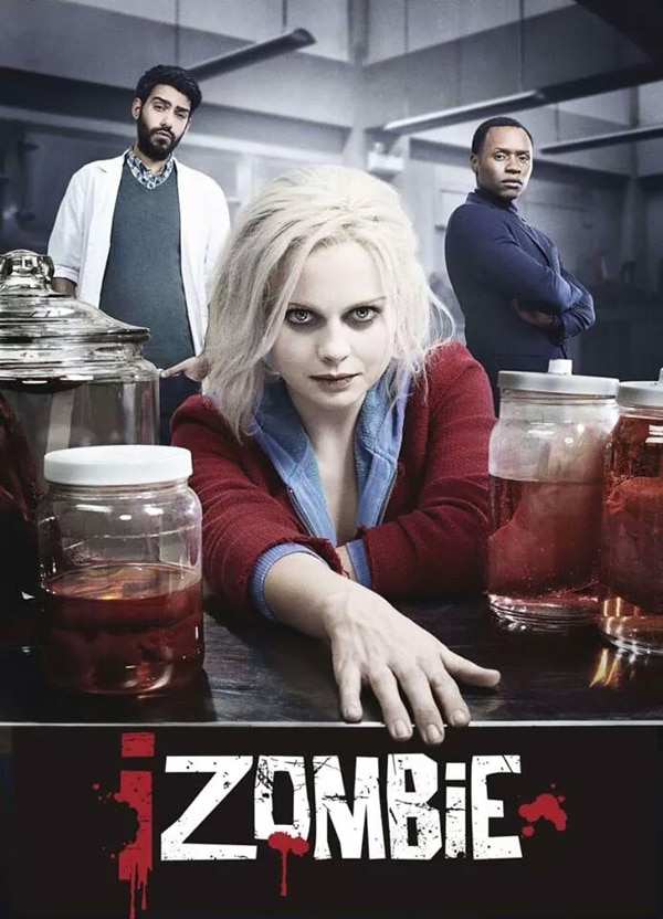 izombie poster - TCA Winter 2015: The CW Announces Early Renewals; Reveals iZombie and The Messengers Premiere Dates; Moves Supernatural Again but Spinoff Still in Play