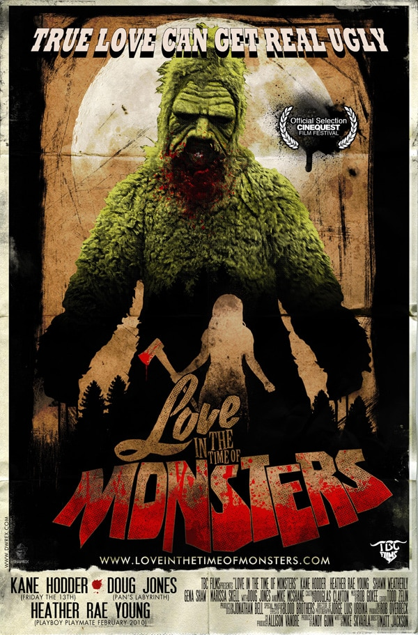 love in the time of monsters - Exclusive: Odd Couple Doug Jones and Kane Hodder Discuss Love in the Time of Monsters