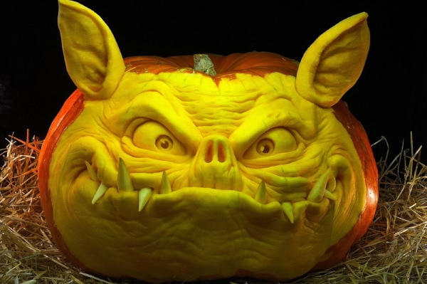 35 Incredible Pumpkin Carvings for Halloween 2