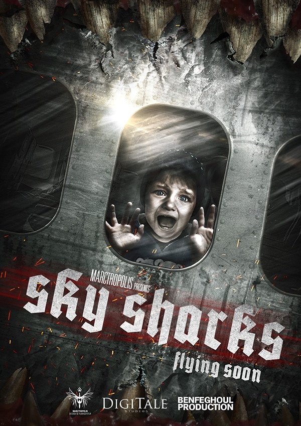sky sharks 1 - Sky Sharks Releases a Promo Trailer, But the Movie Needs Your Help