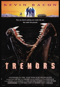 tremors poster 207x300 - Fred Ward Joins Kevin Bacon in Tremors TV Series?