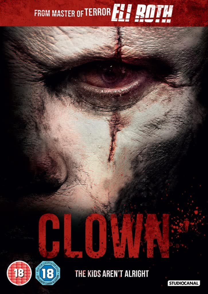 Clown UK DVD Sleeve