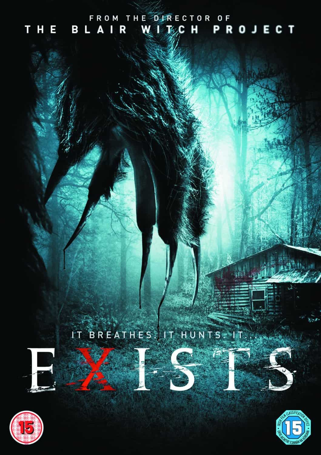 Exists UK DVD Sleeve1 - Bigfoot Caught on Camera! Exclusive UK Clip Proves He Exists...