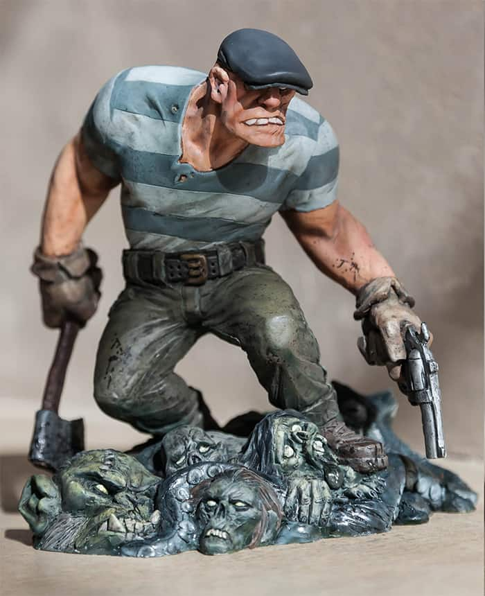 GOONStatue1 115429 - Toy Fair 2015: Dark Horse Reveals Special Edition Statue Based on Eric Powell's The Goon