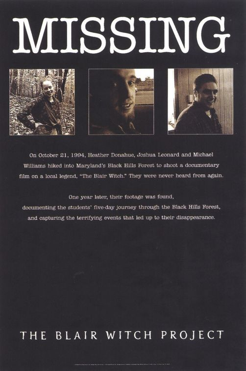 The Blair Witch Project - Blair Witch Documentary Goes into The Woods Movie