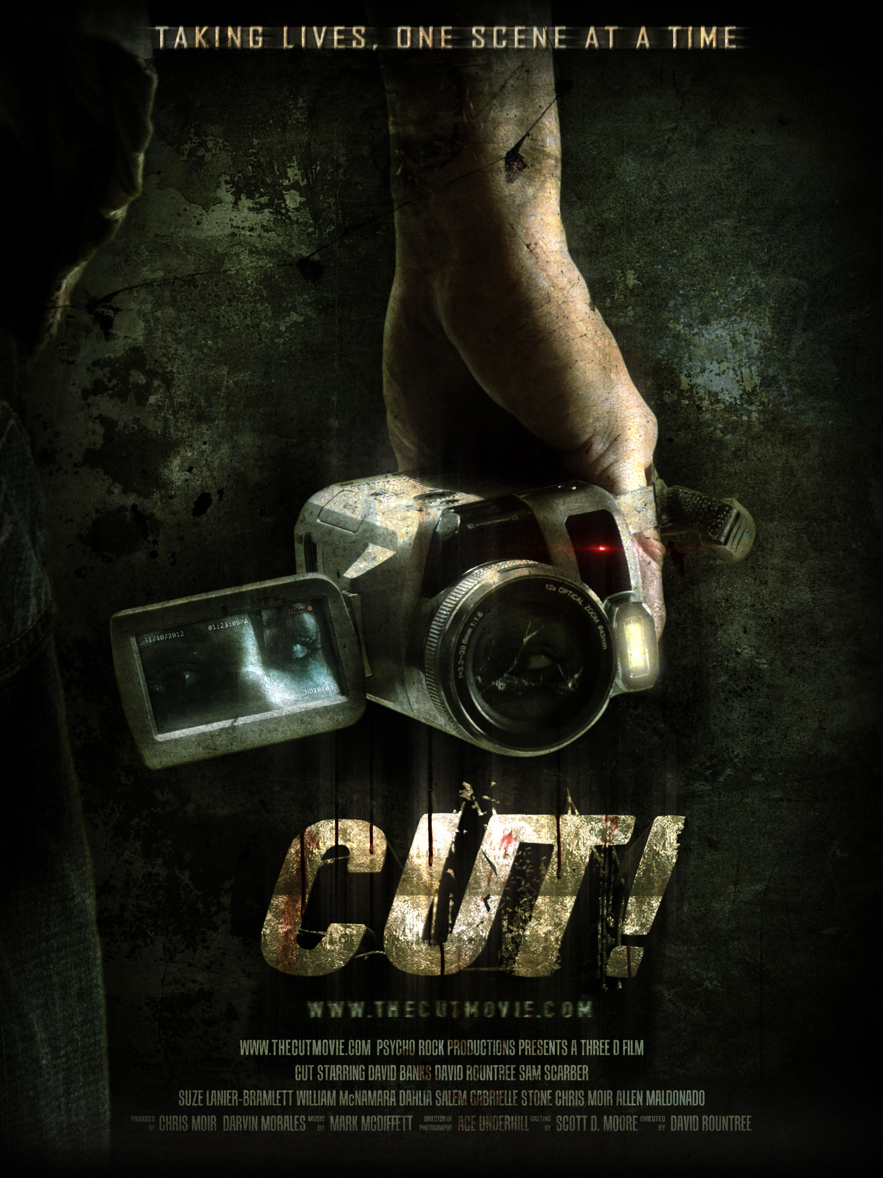 cut poster 1 - Get CUT! on Friday the 13th