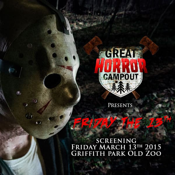 f13insta - Great Horror Campout Launches Movie Night Under the Stars March 13th in Los Angeles
