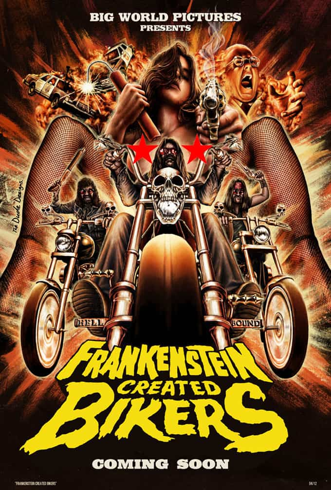frankensteincreatedposter - Exclusive: Tristan Risk Lands the Lead in Frankenstein Created Bikers