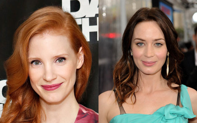 jessicachastainemilyblunt - The Huntsman Gains More Star Power with Jessica Chastain and Emily Blunt