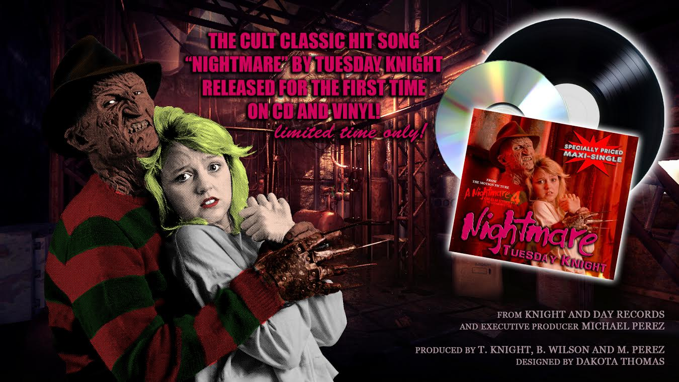 nightmare tuesday knight 1 - A Nightmare on Elm Street 4: The Dream Master's Tuesday Knight Sings for Fans