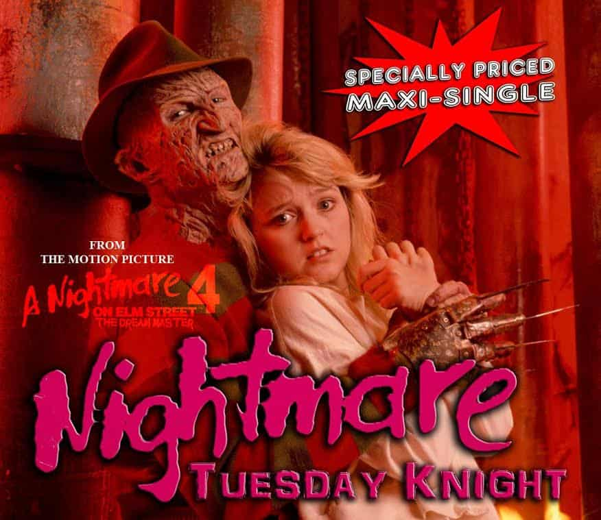 nightmare tuesday knight - A Nightmare on Elm Street 4: The Dream Master's Tuesday Knight Sings for Fans