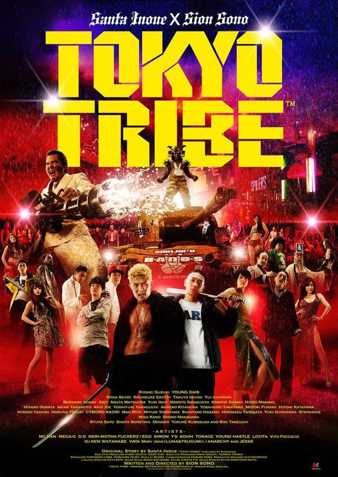 tokyo tribe - Tokyo Tribe Engages in a Rap Battle to the Death!