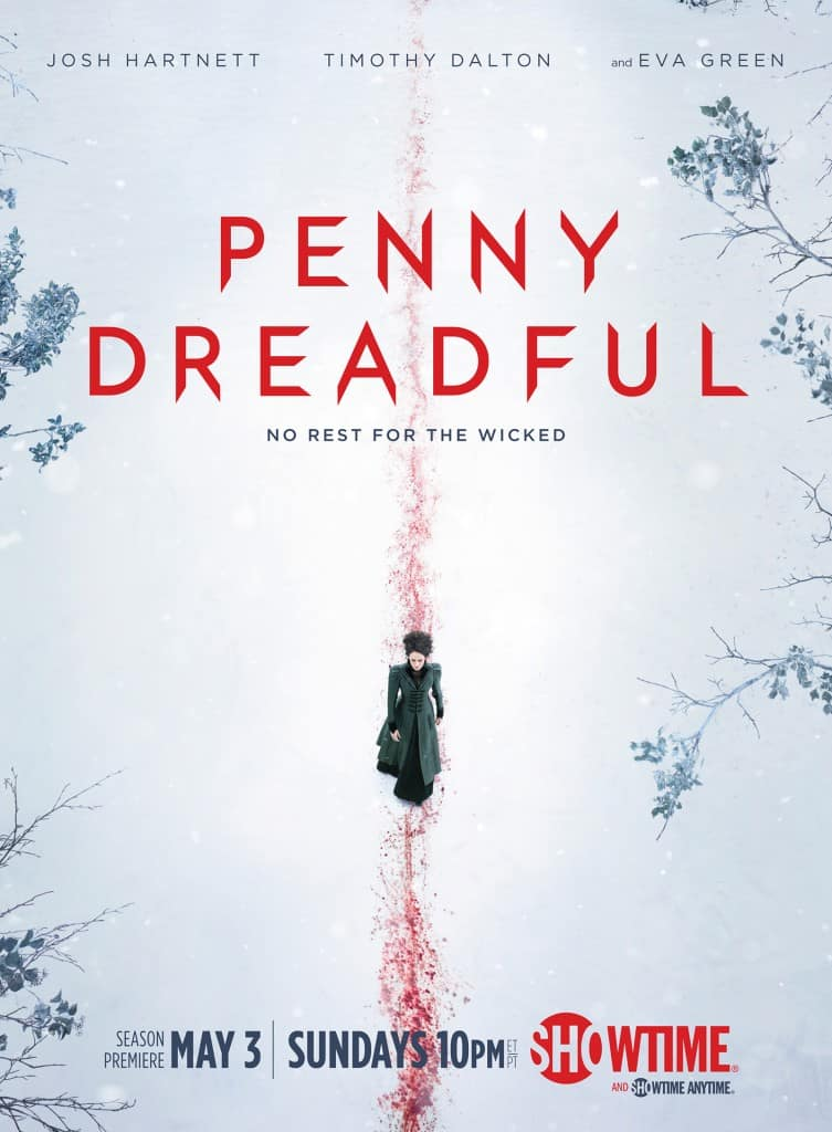 1 MAINART 753x1024 - Eva Green Paints a Bloody Picture in this Penny Dreadful Season 2 Promo