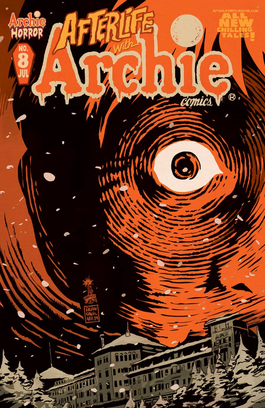 AfterlifeWithArchie8Cvr - Archie Comics Launching Horror Imprint; Teases Third Series to Join Afterlife and Sabrina