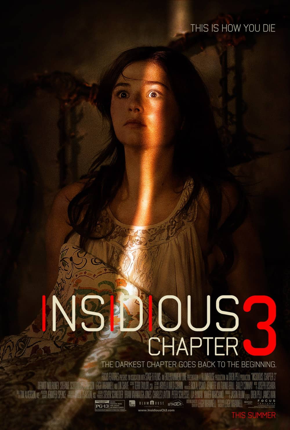 Insidious Chapter 3 poster - Insidious Chapter 3 - Official Poster Premiere