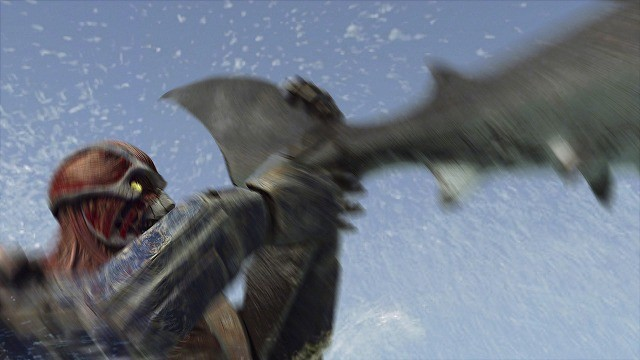 Mega Shark vs Kolossus