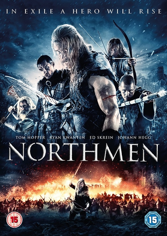 Northmen UK DVD Sleeve - Exclusive Northmen Clip Shows Why You Don't Mess With Vikings