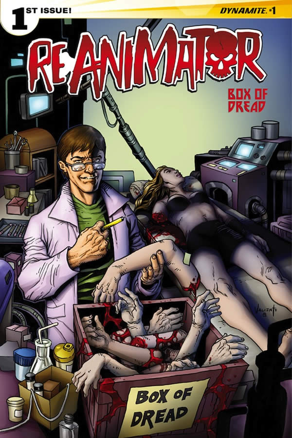 Reanimator01 Cov L Exclu BoxDread 600 - Variant Cover of Reanimator Issue #1 Exclusive To Box Of Dread April 2015