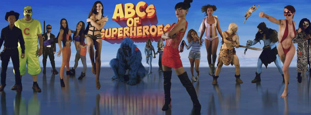 abcs of superheroes - ABCs of Superheroes Ready to Soil Your Spandex
