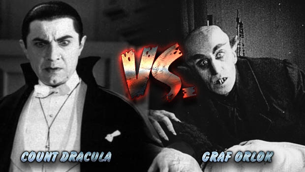 dracula vs orlok - March Maniac Madness: Round 1 - Count Dracula VS Nosferatu Graf Orlok