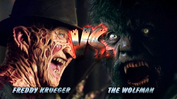 Freddy Krueger VS. The Wolfman