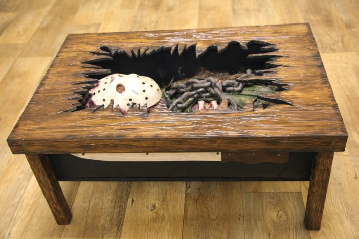New Friday The 13th Coffee Table Escapes From The Grave