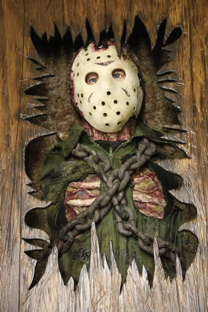 Strange New Friday The 13Th Coffee Table Escapes From The Grave Machost Co Dining Chair Design Ideas Machostcouk
