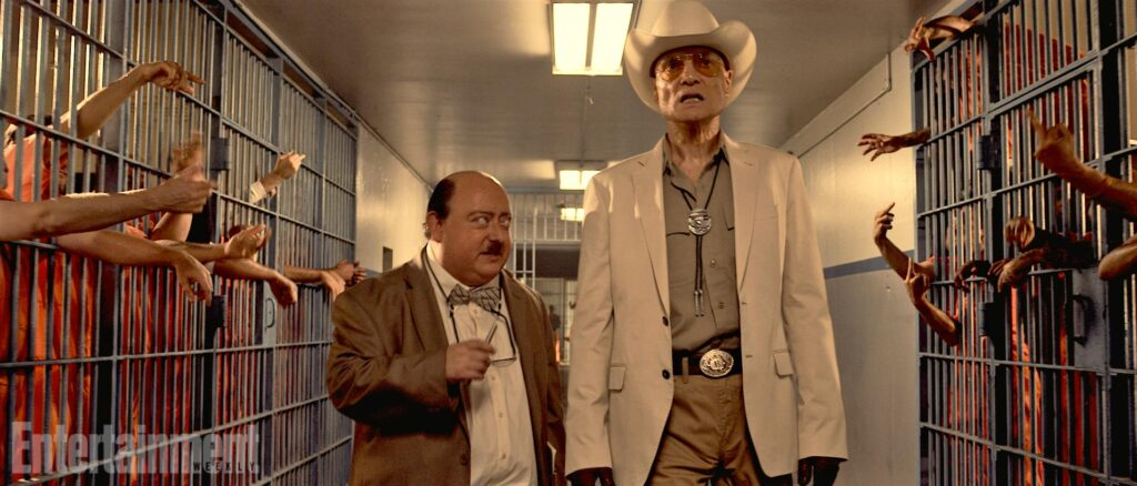 hc3 1024x438 - Behind-the-Scenes Shot Shows The Human Centipede 3's Prison Set