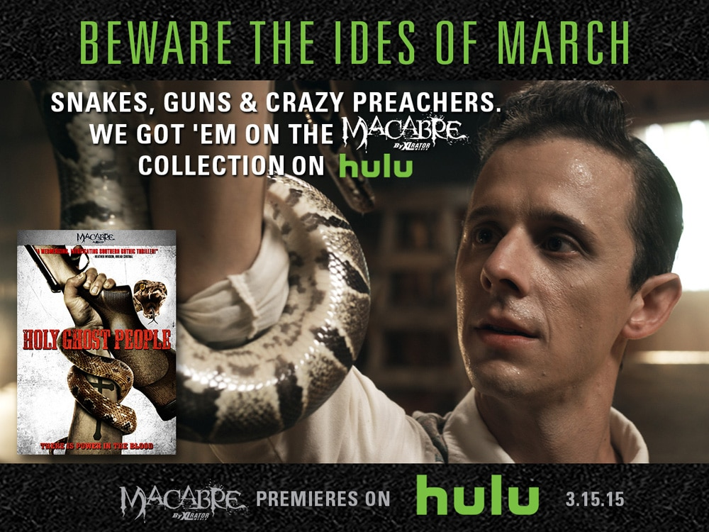 hulu macabre 2 - XLrator Media Gets Macabre on Hulu