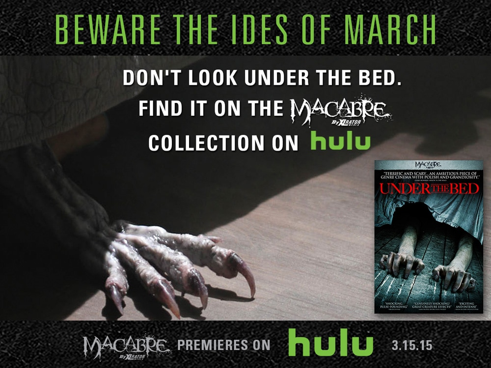 hulu macabre 3 - XLrator Media Gets Macabre on Hulu