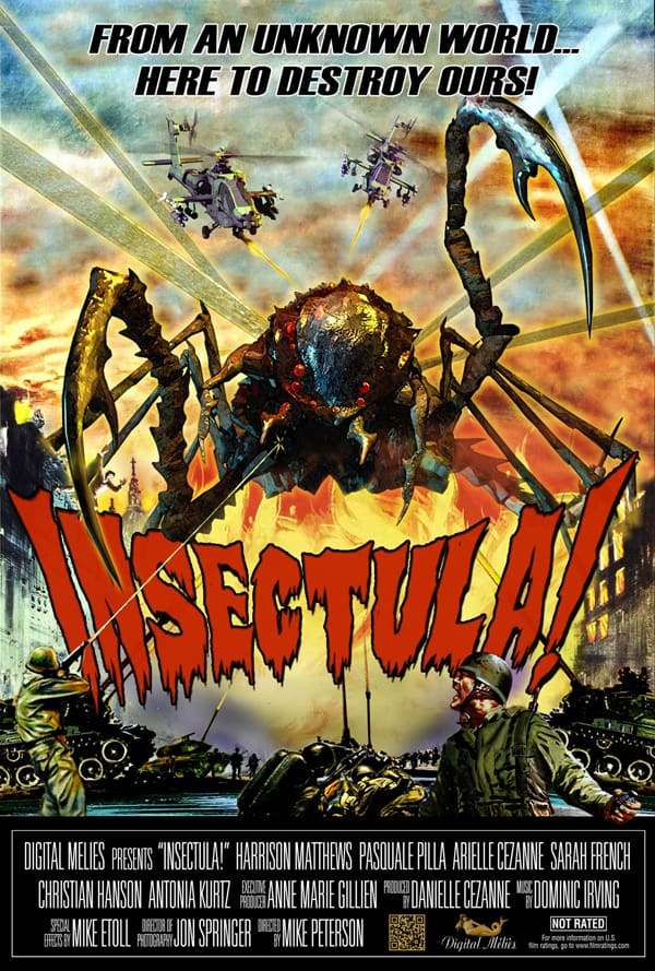 insectula - Insectula to Invade the Mall of America