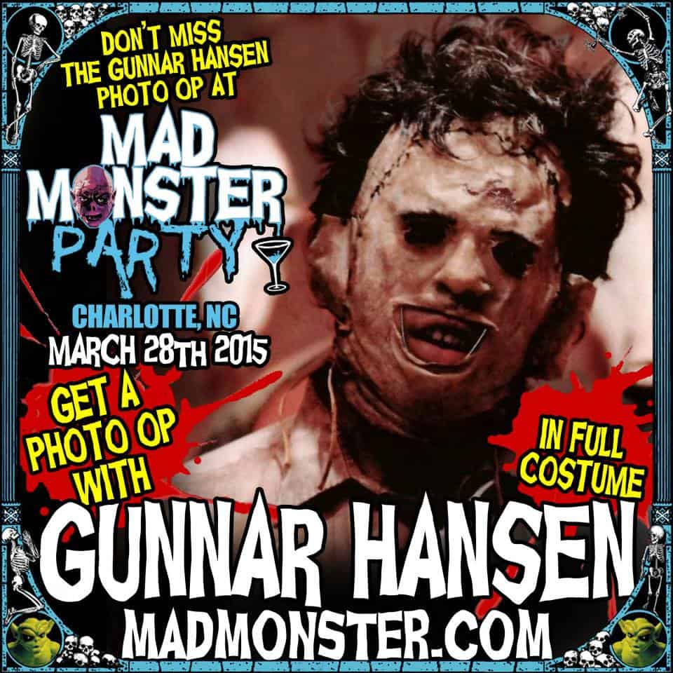 Mad Monster Party Gunnar Hansen