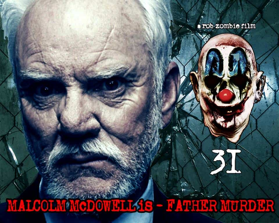 malcolm mcdowell 31 - Malcolm McDowell Joins Rob Zombie's 31