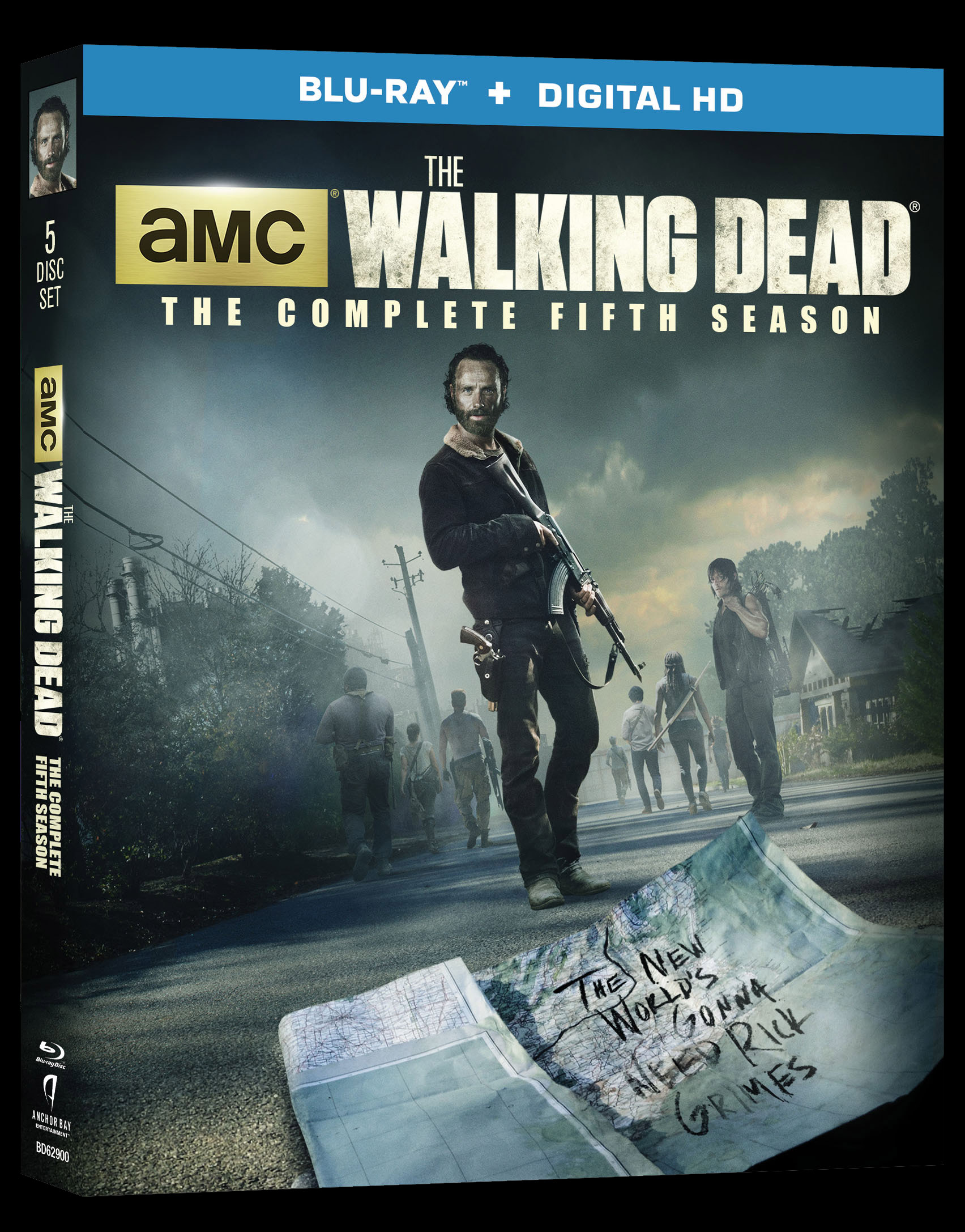 The Walking Dead Season 5 Hitting Blu Ray And Dvd In August