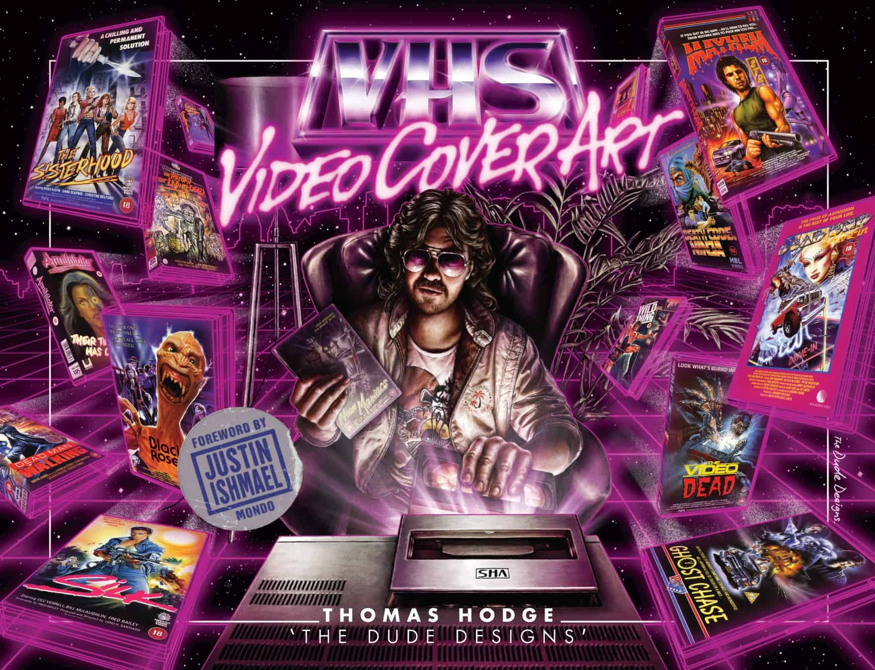 vhsvideo - Upcoming Book Highlights 80s and 90s VHS Video Cover Art