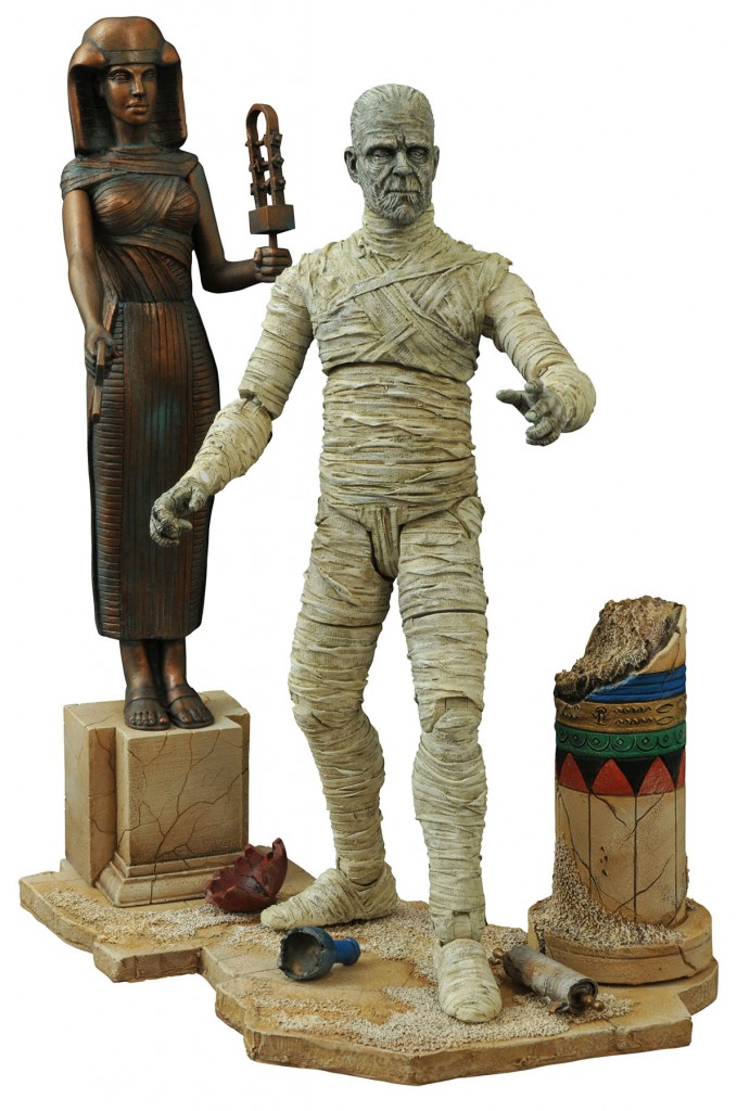 Mummy2 679x1024 - Exclusive Early Look at Diamond Select's Universal Monsters Mummy and Wolfman Version 2 Action Figures