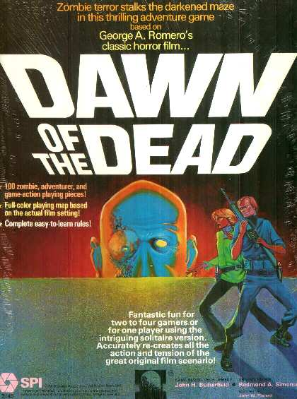 dawngame - 10 Horror Movies That Were Turned Into Board Games