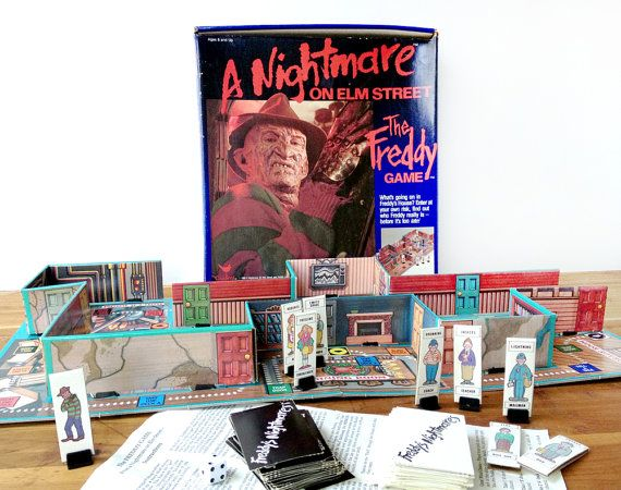 elmgame - 10 Horror Movies That Were Turned Into Board Games