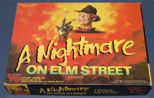 elmstreet - 10 Horror Movies That Were Turned Into Board Games