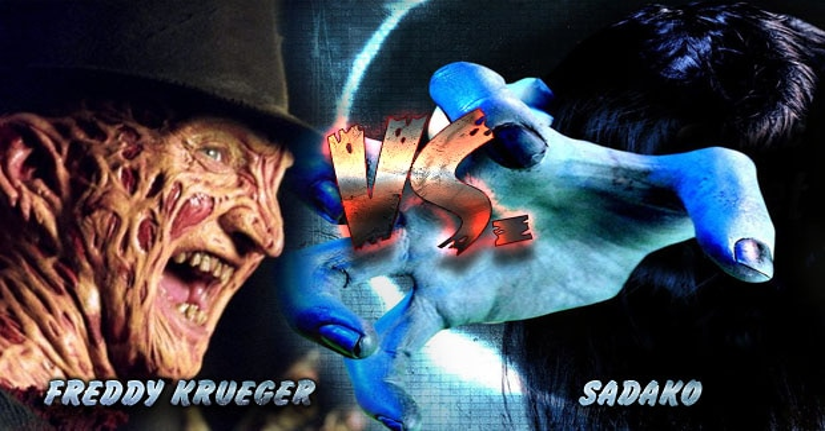 Freddy Krueger VS. Sadako