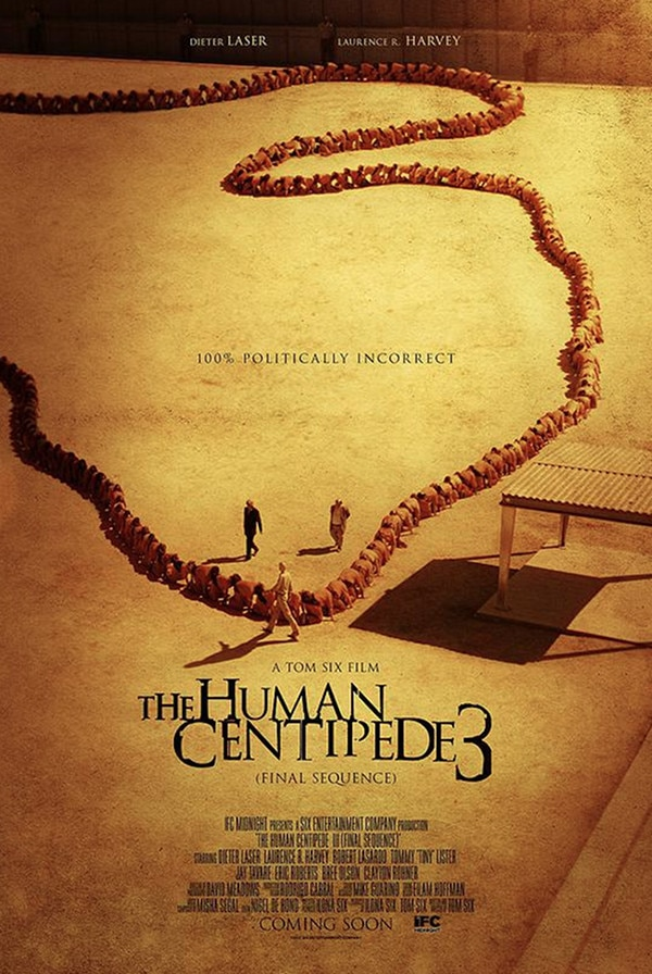 human centipede 3 poster new - NSFW - The Human Centipede 3: Final Sequence Gets 4 New Incredible Posters