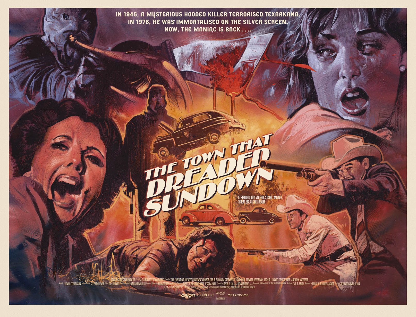 town3 - The Town That Dreaded Sundown Gets a Beautiful Limited Edition Art Print