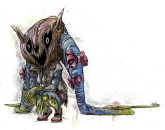 DUTM 4 336x266 - Exclusive Digging Up the Marrow Concept Art and Clip