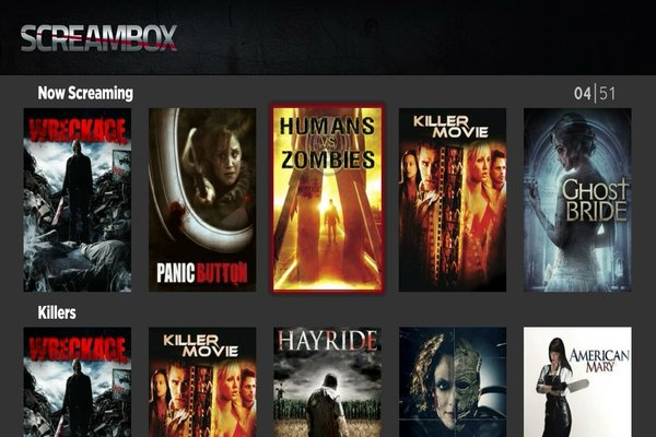 Screambox Roku converted - Screambox Promises to Be Your Netflix Horror Alternative
