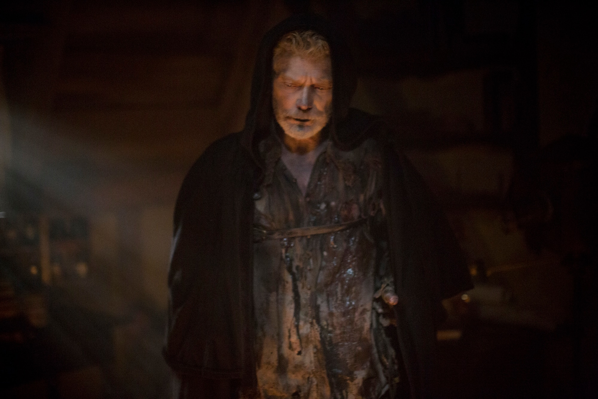 Stephen Lang as Increase Mather - Increase Returns in these Images and Preview of Joe Dante-Directed Salem Episode 2.07