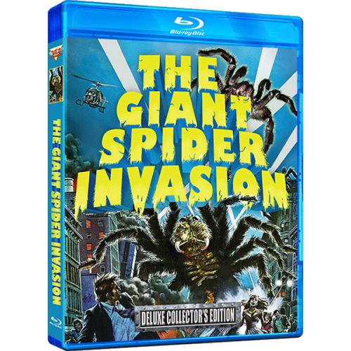 THE GIANT SPIDER INVASION BLU RAY 500x500 - The Giant Spider Invasion Spins Its Web on Blu-ray This Summer