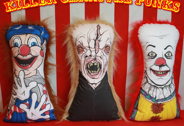 punks 612x422 - Horror Decor Unleashes Poltergeist, Pennywise, and The Funhouse Carnival Dolls